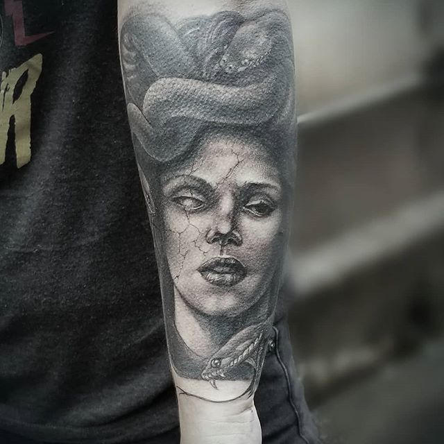 Tattoo by Sergio Lindop, Cap Szumski's World Famous Timeless Tattoo, Atlanta